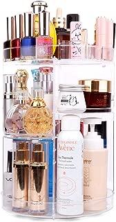 360 rotating cosmetics & makeup organizer