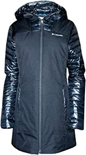Columbia Women's Fenn Ridge Mid Insulated Hooded Jacket, Black, Small