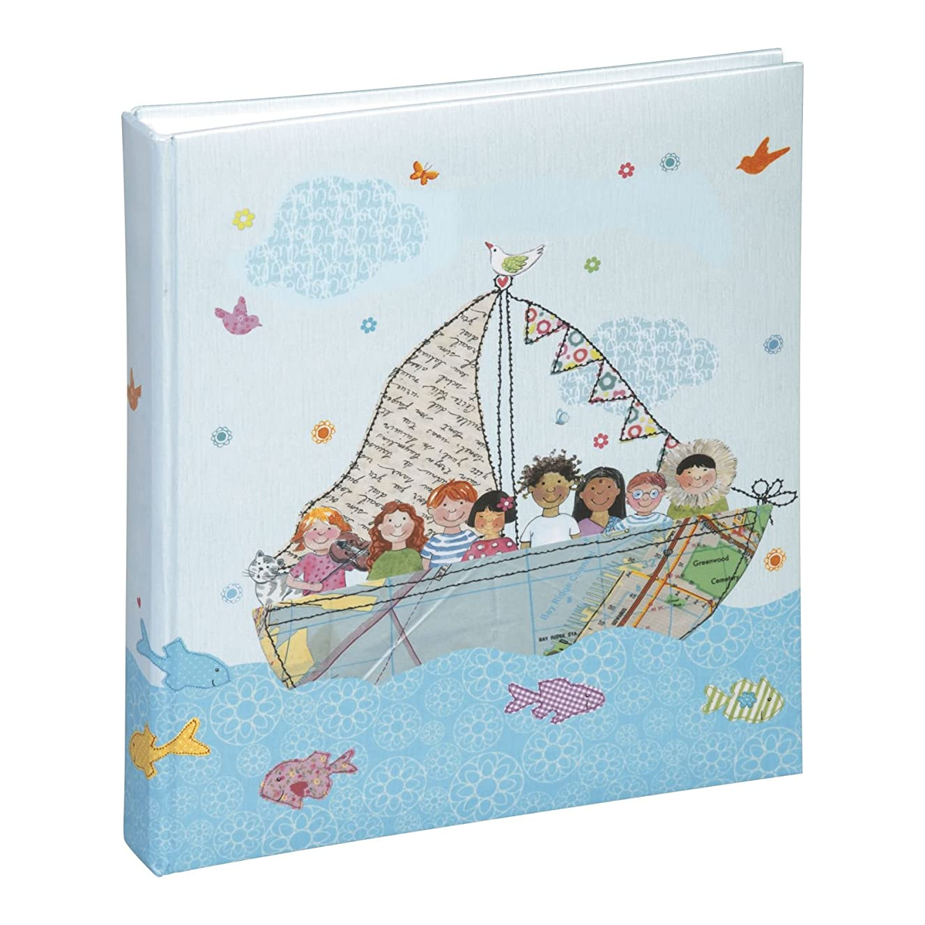 Pagna 11078?Baby Photo Album 210?x 250?mm Cardboard Cover World 40S, 21.5?x 25.0?x 3.2?cm