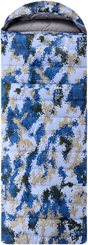 Plaer Outdoor Sacs de couchage chaud et confortable–Adulte Camouflage Sacs de couchage navy digital