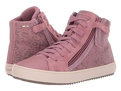 Geox Kids Jr Kalispera 21 (Big Kid) (Dark Pink) Girls Shoes