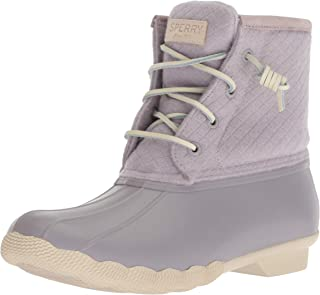 Women's Saltwater Wool Embossed Rain Boot