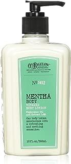 C.O. Bigelow Mentha Vitamin Body Lotion 10 Oz.