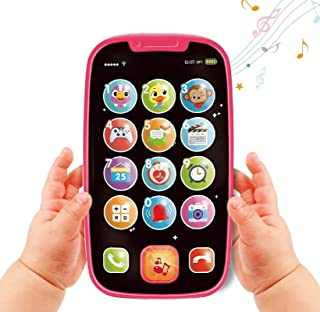 BABYFUNY Baby Toy Phones for 1 Year Old - Toddler Toy Early Learning Educational Birthday Gifts - Presents for 1 year old...