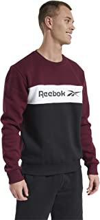 Reebok Men's Cl F Linear Crew Sweatshirt