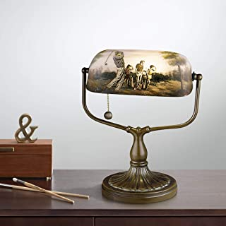 Dale Tiffany 10164/417 Golf Handale Accent Lamp, Antique Bronze