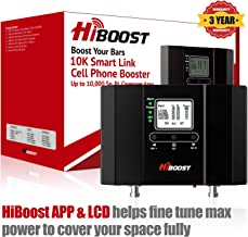 HiBoost 10K Smart Link – Cell Phone Signal Booster – Improves Reception on..