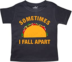 inktastic Tacos Fall Apart Toddler T-Shirt