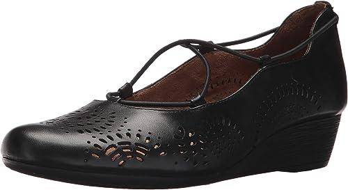 Rockport femmes Cobb Hill Judson Ballet Flat, noir Leather, 9.5 B(M) US