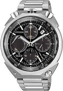 Citizen - Reloj Cronógrafo para Hombre de Eco-Drive con Correa en Titanio AV0080-88E