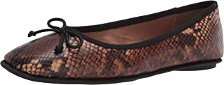 حذاء باليه Catalina نسائي مسطح من Aerosoles بلون بني الثعبان 10. 5