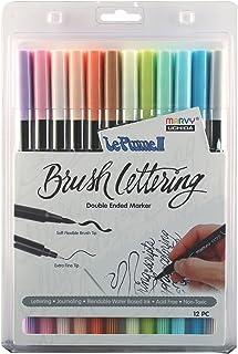 مجموعة أقلام تحديد حروف ملونة بألوان فاتحة من يوشيدا