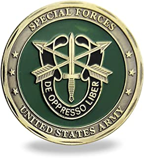 United States Army Green Beret Military Special Forces Challenge Coin Veteran Gift