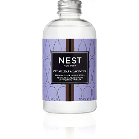 NEST Fragrances Reed Diffuser Refill, Cedar Leaf & Lavender