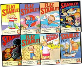 Flat Stanley Collection, 8 books, RRP £32.92 (Flat Stanley; Stanley, Flat Again; Invisible Stanley; Stanley in Space; Stan...