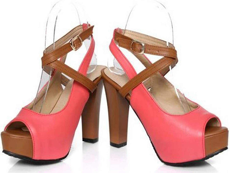 2019 Quality high Heel Sandals Fashion Women Dress Sexy shoes Platform Pumps