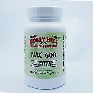 Holly Hill Health Foods, NAC 600 (N-Acetyl Cysteine), 60 Vegetarian Capsules