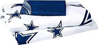 The Northwest Company Officially Licensed NFL Dallas Cowboys Twin Sheet Set, Multi Color