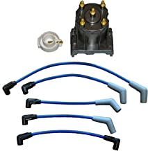 Marine Tune Up Kit with Plug Wires for Some Mercruiser 3.0L LX Replaces 811635Q2 816761Q14