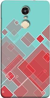 ColorKing Xiaomi Redmi Note 5 Case Shell Cover - Blocks Multi Color