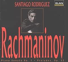 Rachmaninov: Piano Sonata No. 1 / Preludes, Op. 32 (Elan)