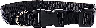 Lupine Dog Collar 8-12, Black, 1/2 inch