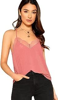 Best pink lace vest top Reviews