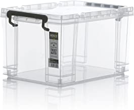HOUZE SB-1401-CLEAR STRONG' Box, Transparent, 21L