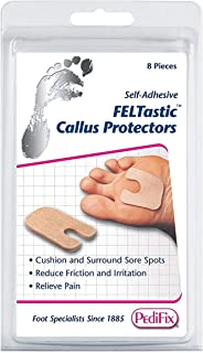 PediFix Felt Callus Protectors [#P16] 8 Each (Pack of 3)