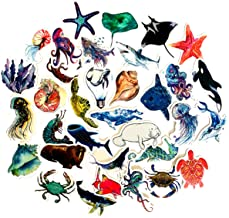 3D Stickers 12 Pack of Stickers Under the Sea Life Craft Time
