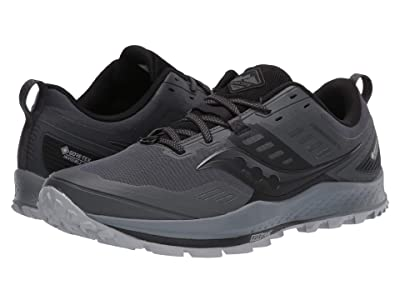 Saucony Peregrine 10 GTX (Grey/Black) Men