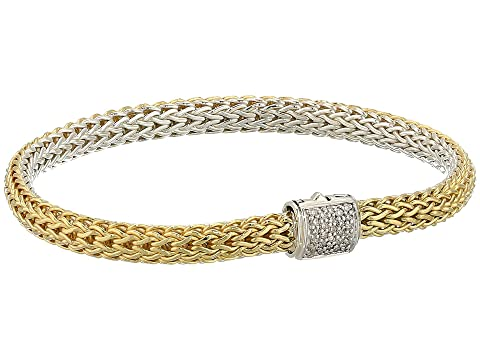 John Hardy Classic Chain Diamond Pave Reversible Bracelet 5mm