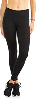 Athletic Works Women's Active Core Cotton Seamed Ankle Tights Leggings