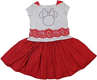 Disney Junior Girls Minnie Mouse Tulle Dress