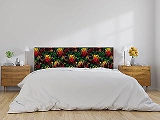Oedim Cabecero Cama Cabeza de León Multicolor, cabecero Decorativo para Camas, decoración para Habitaciones