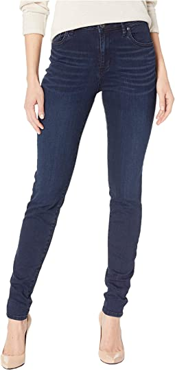Mia High-Waisted Skinny Jeans in Premier
