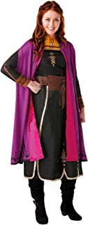 Rubie's Women's Anna Deluxe Frozen 2 Costume, Adult, Multicoloured, Large