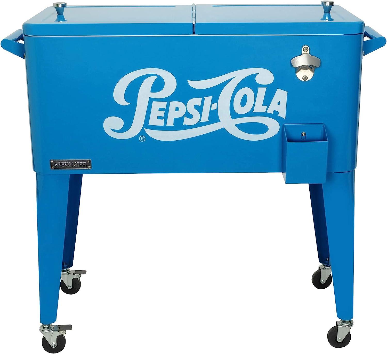 Permasteel PS-203-PEPSI-AM 80 qt. Ro Pepsi-Cola Portable 2021 Regular dealer new Vintage