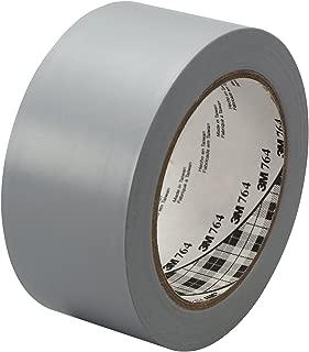 3M General Purpose Vinyl Tape 764, Gray, 2 in x 36 yd, 5 mil