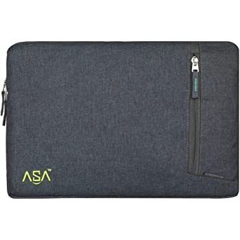 ASA Global Solution Fabric 14-inch Laptop Sleeve with Inner Protection and Water Resistance