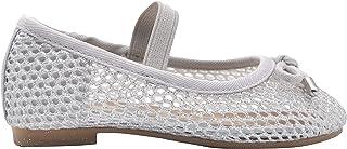 eae8d8fe9ebc Amazon.com: Silver - Ballet / Flats: Clothing, Shoes & Jewelry