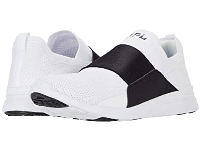 Athletic Propulsion Labs (APL) Techloom Bliss (White/Black Strap) Men