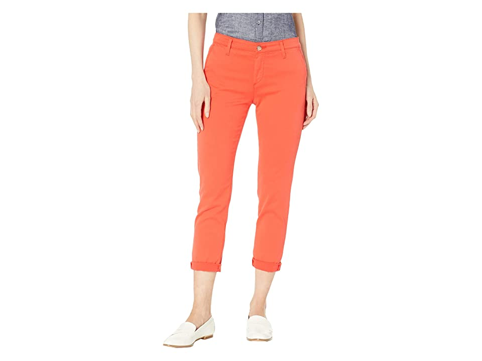 Image of AG Adriano Goldschmied Caden in Molten Coral (Molten Coral) Women's Jeans