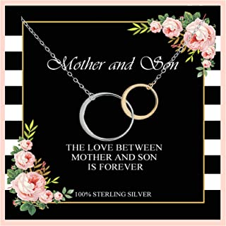 Best mother daughter son necklace Reviews