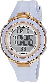 ساعة ارمترون سبورت للنساء بمينا رقمي و سوار من البلاستيك المطاطي 45/7126