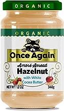 Once Again Amoré Organic Spread Hazelnut with White Chocolate 12 oz