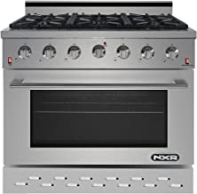 6 burner convection oven