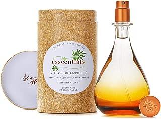 ESSCENTIALS Just Breathe. Fragrance Mist | Light, Buildable, Spray Fragrance Featuring Subtle Notes Of Mandarin & Lime, 2.0 oz / 60mL