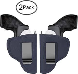 Tenako Revolvers Holster IWB OWB Right Left Fits Most J Frame Revolvers Ruger LCR Smith and Wesson Body Guard Taurus Charter & Most .38 Special Type Guns