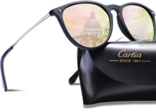 474918a255 Carfia Gafas de Sol Hombre Mujer UV400 Protección Gafas de Sol Polarizadas